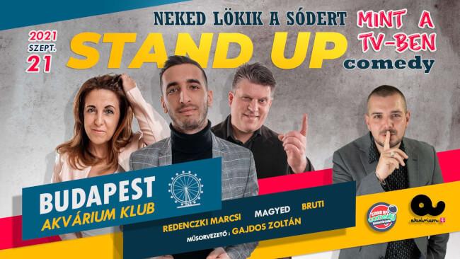 Stand Up Comedy Akvárium Klub